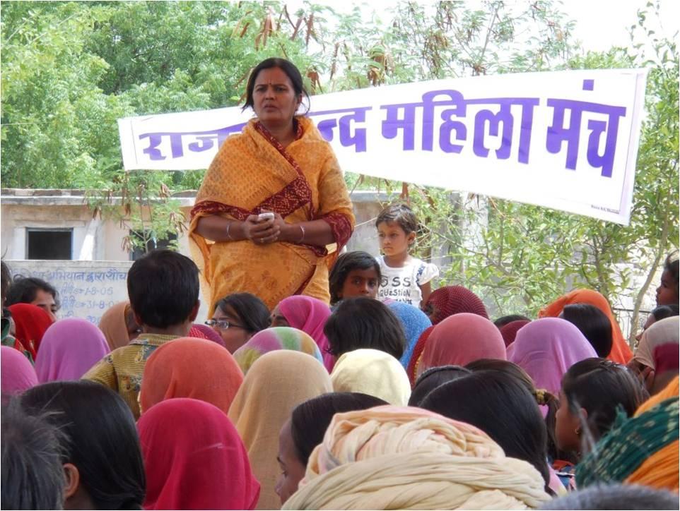 Awareness-Meeting-by-RJVS-Director-in-dunga-ki-Khuda-village-in-Kelwarablock-after-a-honour-killing