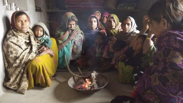 Conducted meeting of women in the morcha village under 16 days activism 2017 of Jagrati project