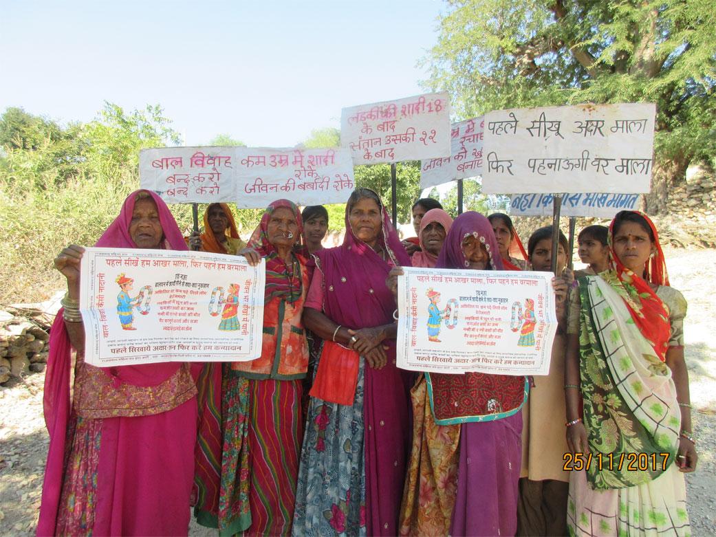 Child marriage prevention campaign